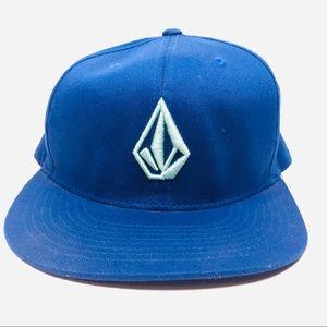 Volcom FlexFit Blue Hat A180834